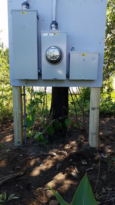 Outdoor Electrical Service Panels