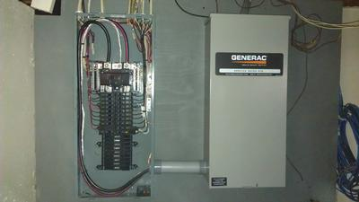 Add at your house an Automatic Transfer Switch (ATS) so you never need to worry about losing power again